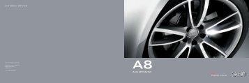 Tilbehørsbrosjyre Audi A8