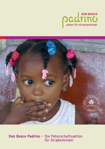 Don Bosco Padrino – Die Patenschaftsaktion für Straßenkinder
