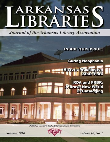 Summer 2010 - the Arkansas Library Association!