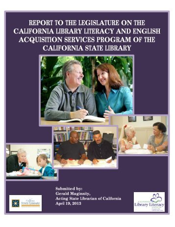 2013 - California Library Literacy Services