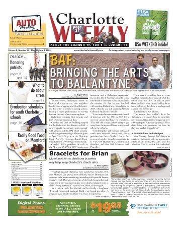 Bringing the arts to Ballantyne - Carolina Weekly