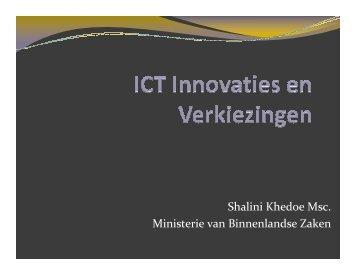 Shalini Khedoe Msc. Ministerie van Binnenlandse Zaken