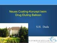 Neues Coating-Konzept Beim Drug Eluting Balloon - Saint