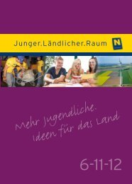 Mehr Jugendliche. Ideen für das Land - Niederösterreichische ...