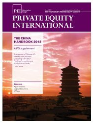 THE CHINA HANDBOOK 2012 - PEI Media