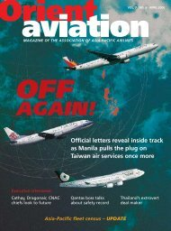 AGAIN! - Orient Aviation