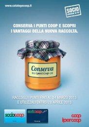 CONSERVA I PUNTI COOP E SCOPRI I VANTAGGI  - Coop Lombardia