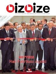 Halı Fabrikası Açıldı! - Boydak Holding