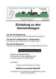 Sonderausgabe Jänner 2008 - Ottendorf an der Rittschein
