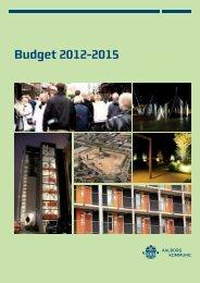 Budgwet 2012 - 2015 - Aalborg Kommune