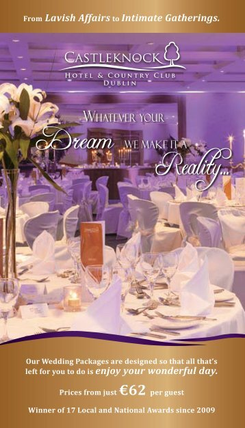 From Lavish Affairs to Intimate Gatherings. Our Wedding Packages are