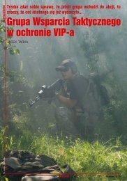Grupa Wsparcia Taktycznego w ochronie VIP-a - Training Squad