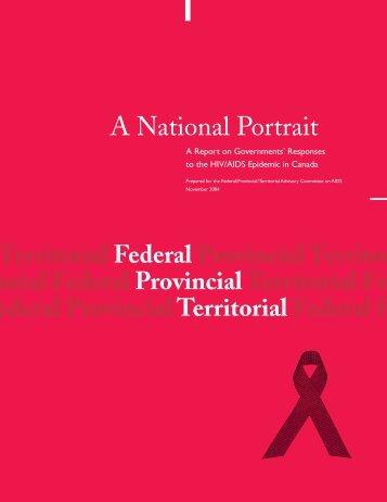A National Portrait - Canadian Public Health Association