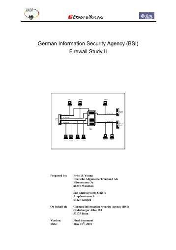 Firewall Study II - Bundesamt für Sicherheit in der Informationstechnik