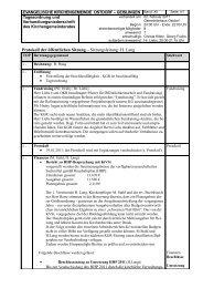 KGR-Protokoll vom 02. Februar - Evangelische Kirchengemeinde ...