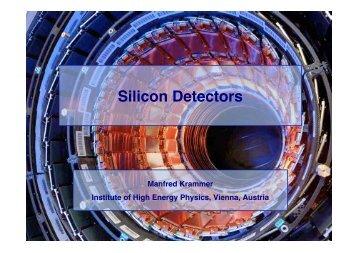 Silicon Detectors - HEPHY