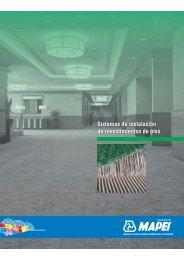 Sistemas de instalación de revestimientos de piso - Mapei