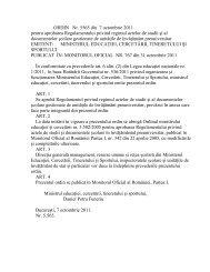 ORDIN Nr. 5565 din 7 octombrie 2011 pentru aprobarea ...