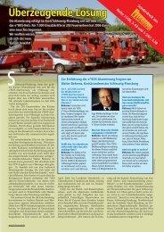 UB Feuerwehr Sonderdruck - e*Bos - Alarmierung