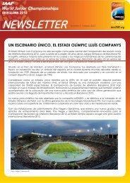 Descarga en PDF el Newsletter 2 WJC2012 - RFEA.es