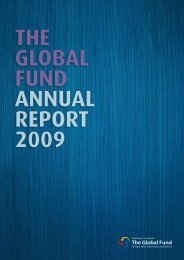 Annual Report 2009 - The Global Fund