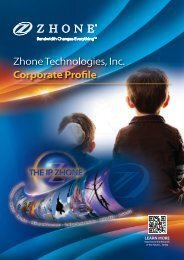 Zhone Technologies, Inc. Corporate Profile