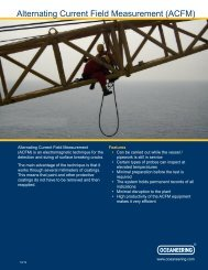 alternating current field measurement (acfm) - Oceaneering