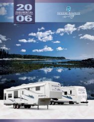 2006 Holiday Rambler Presidential Brochure - Guarantee RV