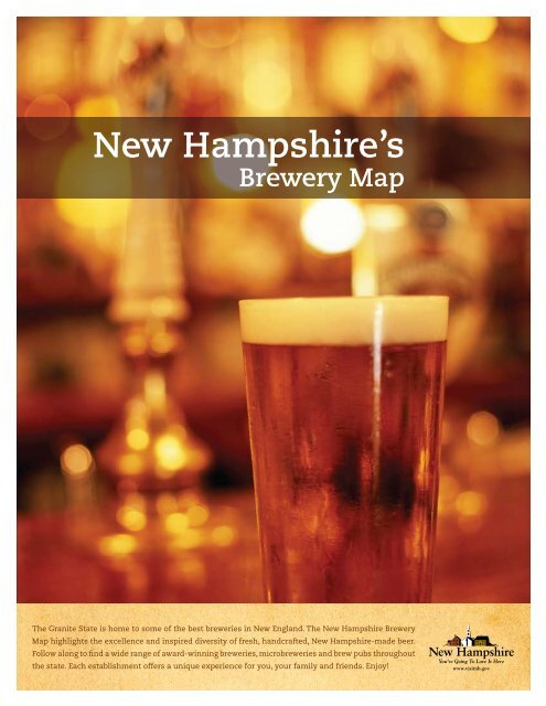 new hampshire brewery map Brewery Map New Hampshire new hampshire brewery map