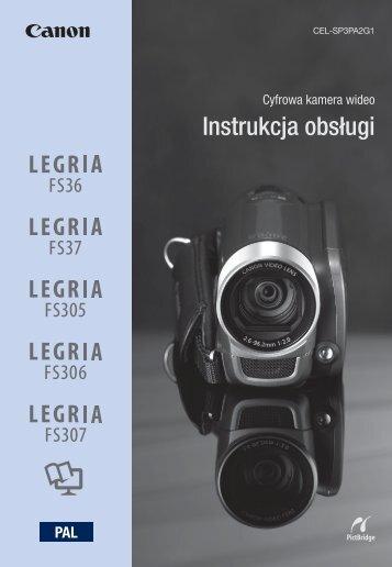 Instrukcja obsługi - Canon