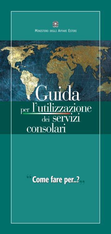 Guida ai servizi consolari - Embajada de Italia en Montevideo