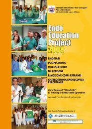 Programma Endo Education 2008 - EndoscopiaDigestiva.it