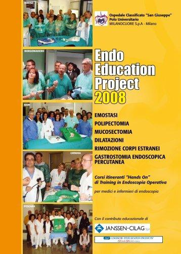 Programma Endo Education 2008 - EndoscopiaDigestiva.it