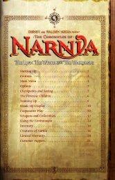 Narnia Xbox Manual