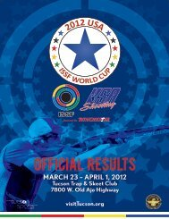 OFFICIAl Results - USA Shooting