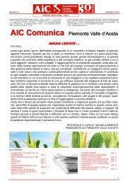 giugno 2010 - AICa - Piemonte Valle d'Aosta