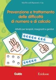 Guida Prevenzione e trattamento delle difficoltà ... - Edizioni Erickson