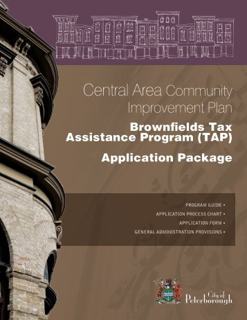 Brownfields Tax Assistance Program - City of Peterborough
