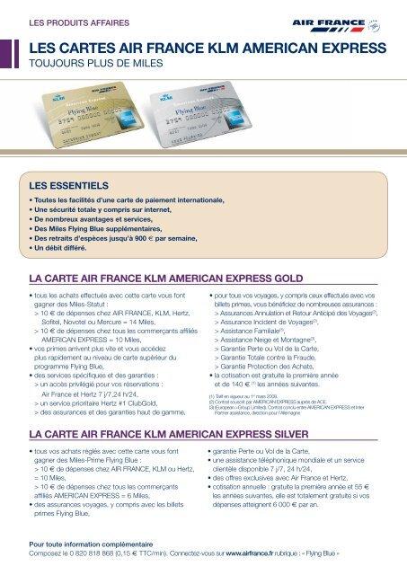 American Express Carte Neige.Les Cartes Air France Klm American Express Afklm