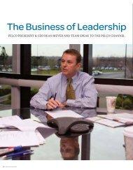 The Business of Leadership (PDF file, 241 KB) - Pelco