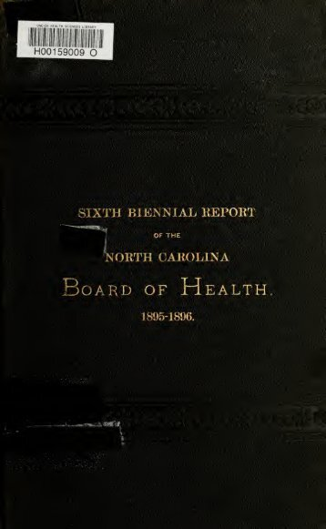 1895-1896 - University of North Carolina at Chapel Hill