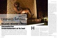 Nr. 21 - Drinks - Das Magazin für Barkeeper & Gäste