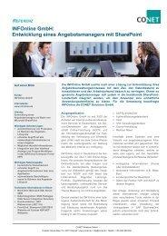 INFOnline GmbH: Entwicklung eines Angebotsmanagers mit ...