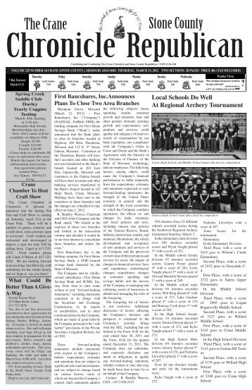 03-15-12 A-Section.pdf - Crane Chronicle / Stone County Republican