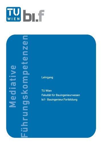 Folder - Fakultät für Bauingenieurwesen - Technische Universität Wien