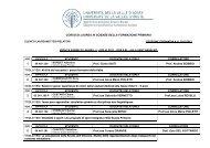 SFP - Seduta di laurea del 4 luglio 2013 - Università della Valle d ...