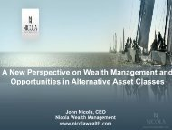 A New Perspective on Wealth Management Strategies - Society