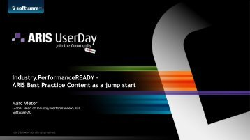 Industry.PerformanceREADY – ARIS Best Practice ... - Software AG