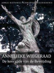 Annelieke Wiegeraad (pdf) - Jonge Historici Schrijven Geschiedenis