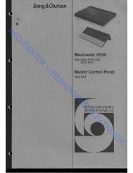 Beomaster 6500 Type 23xx - abo - center